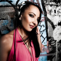 DJ D on the decks